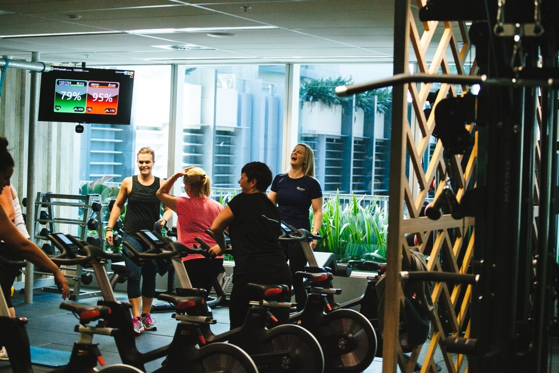 Myzone Training F1rst Class Fitness