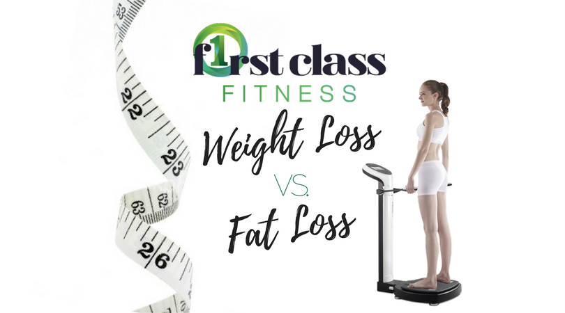 Weight loss Vs Fat Loss – The Key Differences