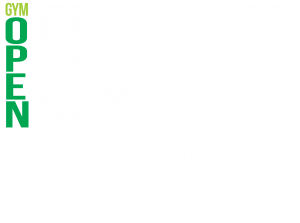 24/7 Gym Opening Hours