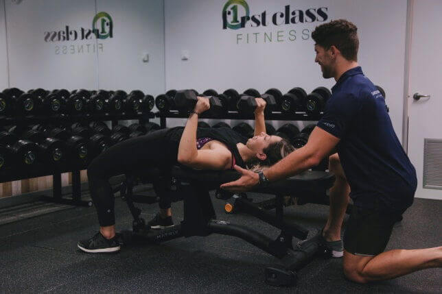 F1rst Class Fitness personal training